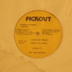 Johnny P, Youth of Today 12″align=